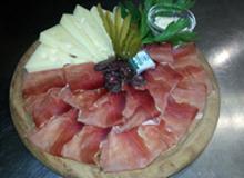speck e formaggio