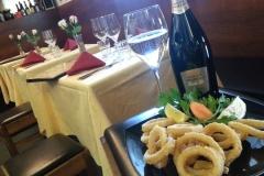 aperitivo con calamari