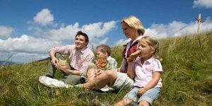 Sommerurlaub mit Ihre Familie