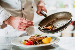 mani di cuoco